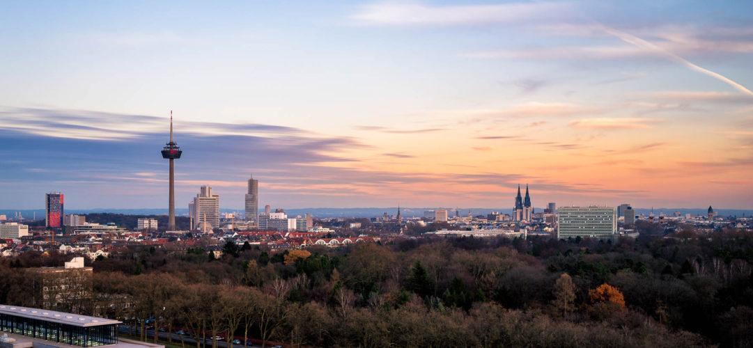 Sicht von Andagon, Köln, Deutschland