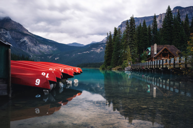 Emerald Lake, Kanada