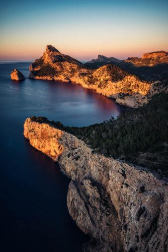 Glühende Klippen, Mallorca, Spanien