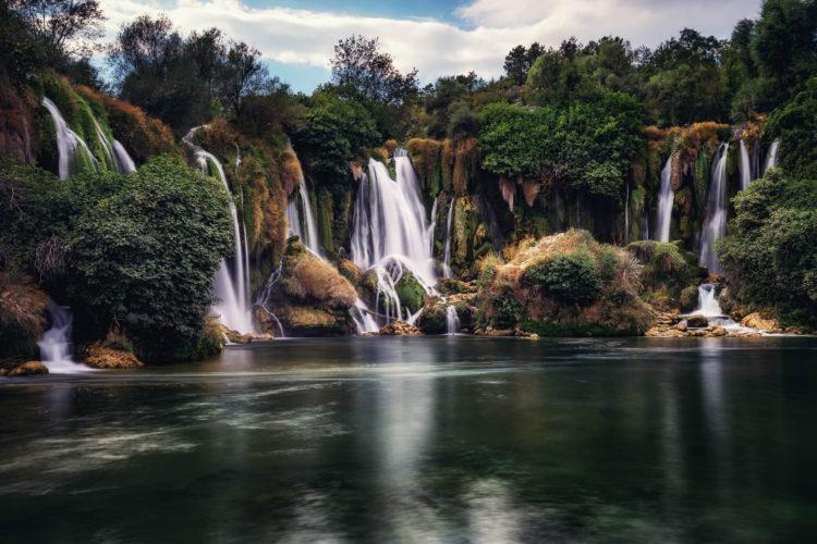 Kravice Wasserfall, Bosnien