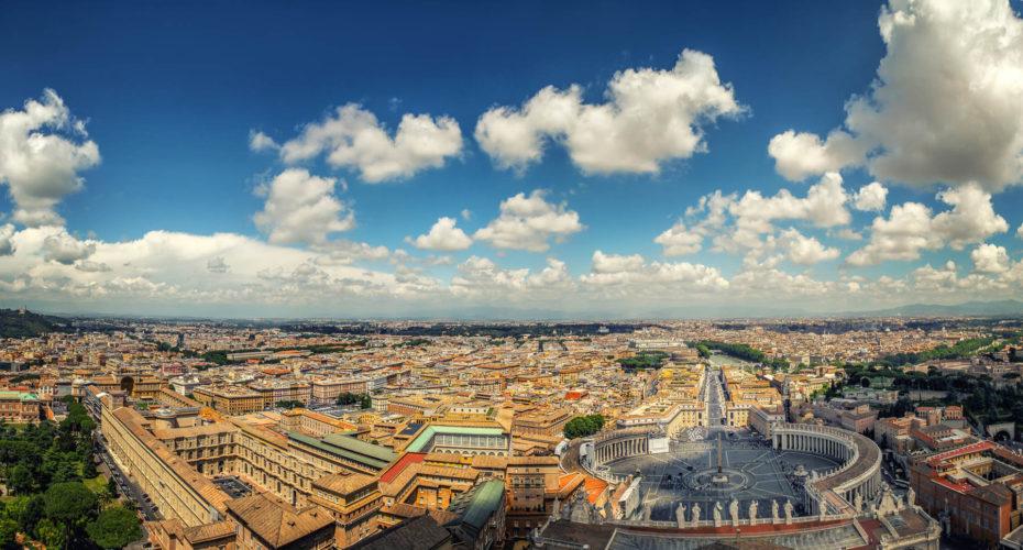 Panorama, Rom, Italien