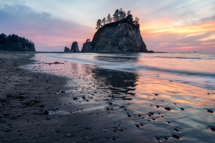 Rialto Beach, La Push, Usa